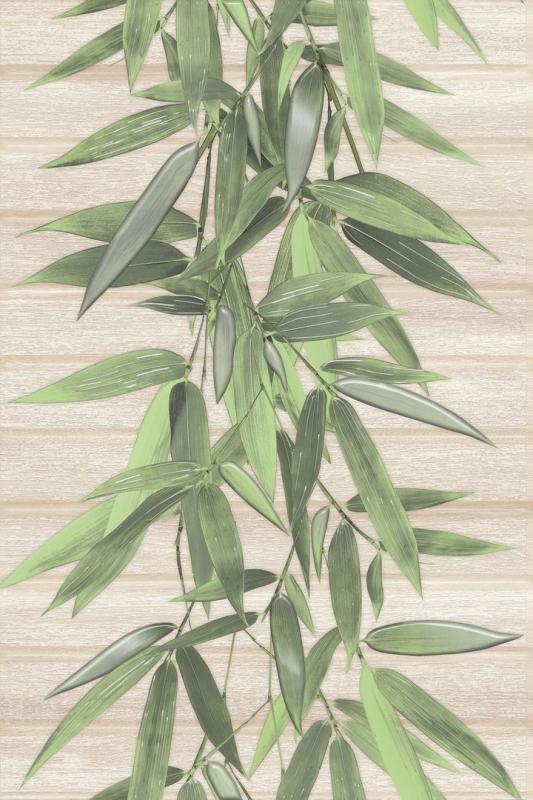 Zenda ZD2N011DT 30х45 смКерамическая плитка<br>Керамический декор Cersanit Zenda ZD2N011DT 30х45 см с изображением зеленых стеблей бамбука заслуживает особого внимания. Дополнительное оформление его ветрозой создает эффект натурального дерева. Сочетание декоративных элементов позволит создать роскошное панно. Разнообразие базовой плитки и декора позволит создавать различные композиции, которые станут настоящим украшением ванной комнаты и создадут идеальную атмосферу для релакса. В упаковке 8 шт.<br>