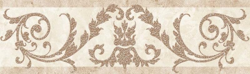 Керамический бордюр Cersanit Novella светло-бежевый C-NO1A011 6х20 см цена 2017