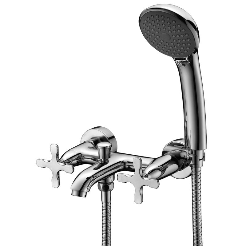 Смеситель для ванны Lemark Duetto LM5712C Хром