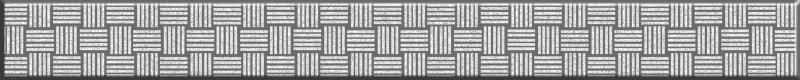Ocean серебристый GL7H371 4х35 смКерамическая плитка<br>Стеклянный бордюр Cersanit Ocean серебристый GL7H371 4х35 см глянцевый имитирует мозаику, отличное дополнение как к основной облицовочной плитке, так и к декорам.  В упаковке 12 штук.<br>