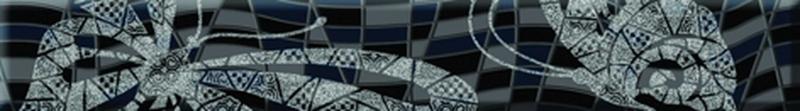 Olla черный OA7D231 4х25 смКерамическая плитка<br>Стеклянный бордюр Cersanit Olla черный OA7D231 4х25 см глянцевый на нем изображены игривые бабочки имеют жёлтые вкрапления на крылышках, перенесёт вас в мир, где когда-то царствовало чёрно-белое кино. В упаковке 10 штук.<br>