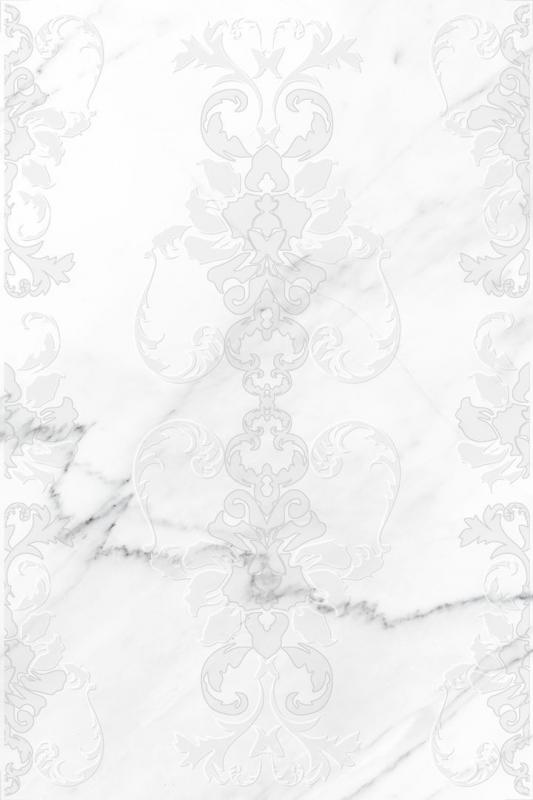 Керамическая вставка Cersanit Oriental белая OE2N051 30х45 см
