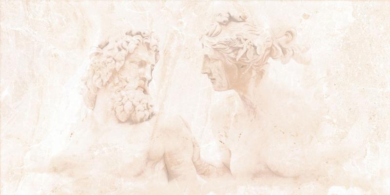 Petra Люди C-PR2L303D 29,7х60 смКерамическая плитка<br>Керамический декор Cersanit Petra Люди C-PR2L303D 29,7х60 см матовый украшен изображением античных скульптур. Выполнен в деликатной манере, так что рисунок словно проступает сквозь прожилковый мраморный узор, а поэтому он не бросается в глаза и не нарушает спокойной атмосферы ванной комнаты. В упаковке 7 штук. Вес упаковки составляет 23,0 кг.<br>