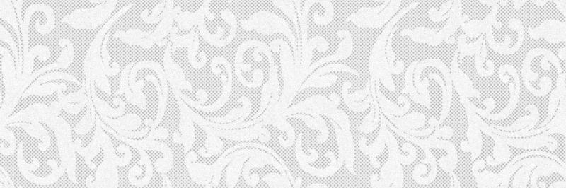 Pandora Charm белый C-PD2S05 20х60 смКерамическая плитка<br>Керамический декор Cersanit Pandora Charm  белый C-PD2S05 20х60 см матовый с гипюровым узором, имеет легкий растительный орнамент, характерный для нарядных портьерных тканей. В упаковке 8 штук.Вес упаковки составляет 18,0 кг.<br>