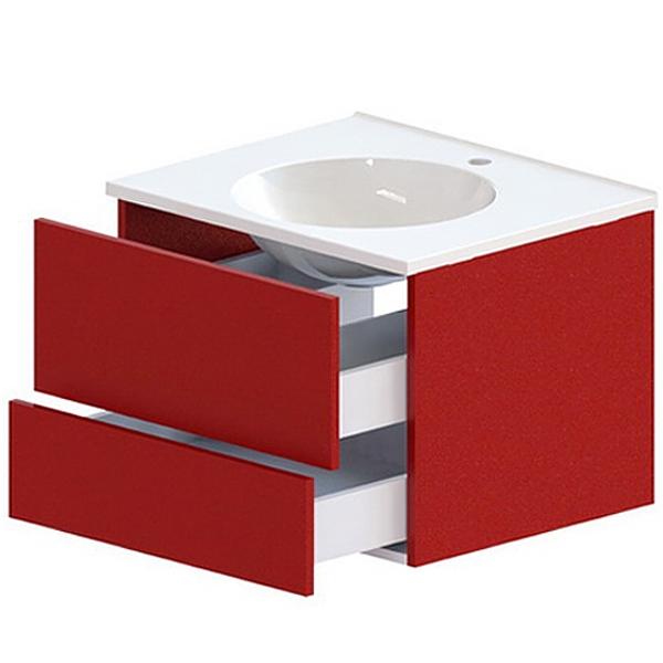 Лофт 60 2 ящика Soft Touch цветнаяМебель для ванной<br>Тумба под раковину Astra Form Лофт 60 Soft Touch с 2 ящиками в ванную комнату.<br>Корпус тумбы изготовлен из ламинированного влагостойкого ДСП, фасад - из МДФ. Поверхность изделия создана красочным покрытием в 3 слоя и 5 слоями матового лака (производство лакокрасочных материалов - Италия). Благодаря этому мебель служит долго в условиях повышенной влажности.<br><br>Габариты корпуса тумбы: 59 х 47,5 х 42,8 см.<br>Ящики тумбы оснащены системой доводчиков для бесшумного и плавного закрывания.<br>Цвет из палитры Ral и Ncs.<br>Поверхность: Soft Touch (матовая).<br><br>Данная модель мебели для ванной органично смотрится в интерьере, созданном в стиле лофт, минимализм и другой современной стилистике.<br>Объем поставки: тумба.<br>