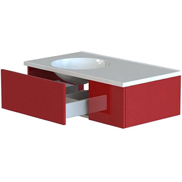 Лофт 90 1 ящик Soft Touch цветнаяМебель для ванной<br>Тумба под раковину Astra Form Лофт 90 Soft Touch с 1 ящиком в ванную комнату.<br>Корпус тумбы изготовлен из ламинированного влагостойкого ДСП, фасад - из МДФ. Поверхность изделия создана красочным покрытием в 3 слоя и 5 слоями матового лака (производство лакокрасочных материалов - Италия). Благодаря этому мебель служит долго в условиях повышенной влажности.<br><br>Габариты корпуса тумбы: 89 х 47,5 х 25,4 см.<br>Дверца и ящик тумбы оснащены системой доводчиков для бесшумного и плавного закрывания.<br>Цвет из палитры Ral и Ncs.<br>Поверхность: Soft Touch (матовая).<br><br>Данная модель мебели для ванной органично смотрится в интерьере, созданном в стиле лофт, минимализм и другой современной стилистике.<br>Объем поставки: тумба.<br>