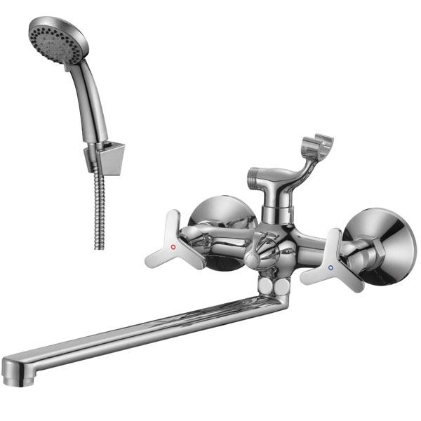 Смеситель для ванны и душа Rossinka RS40-84 Хром