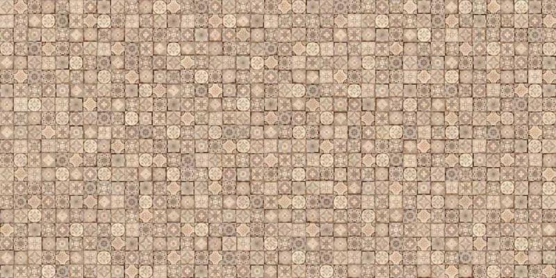 Керамическая плитка Cersanit Royal Garden темно-бежевая U-RGL-WTE151/152 настенная 29,7х60 см фото