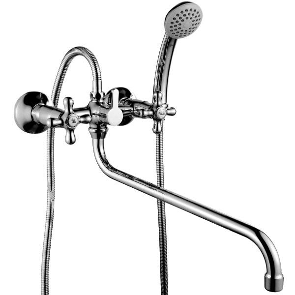 Смеситель для ванны и душа Rossinka H02-84 Хром цена