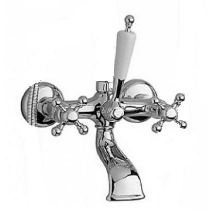 Смеситель для ванны Bugnatese Revival 401 CRDO (хром-золото) смеситель для раковины bugnatese revival 464 crdo хром золото