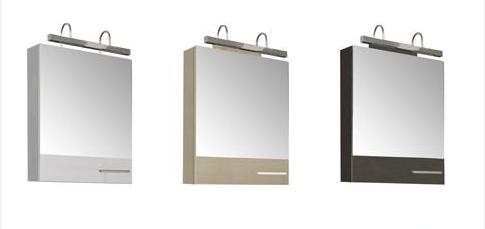 Нота 165370 Чёрный глянецМебель для ванной<br>Зеркало Aquanet 169191 Нота. Цвет: чёрный глянец.<br>
