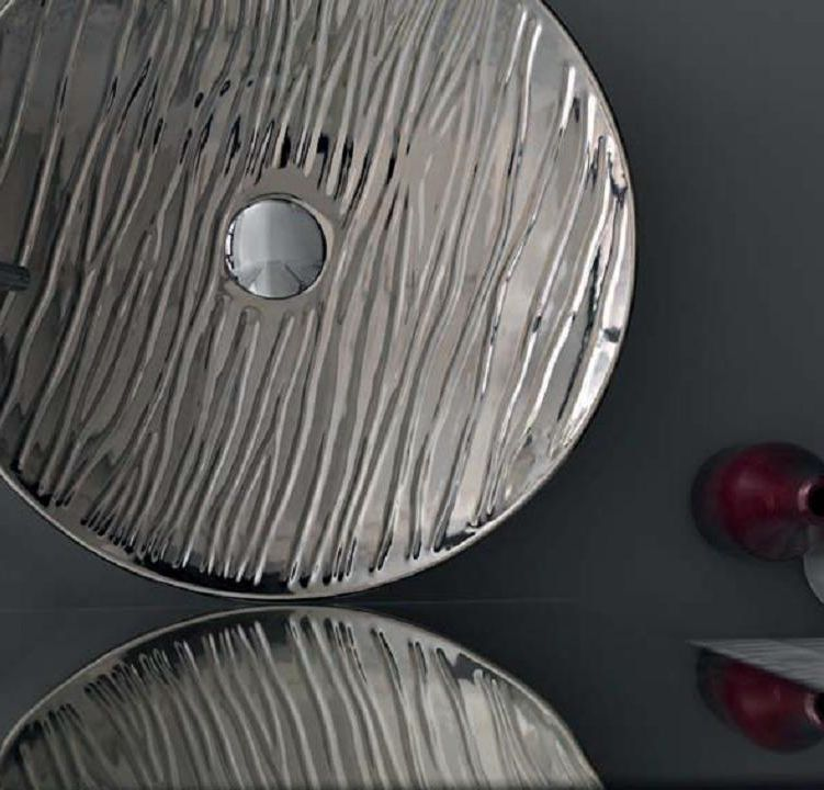 Раковина Hidra Ceramica Soul 500 decoro rei - фото
