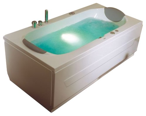 """Bonaire Система 2: ГидромассажВанны<br>Victory Spa Bonaire NVS.210.910.02.1 акриловая ванна белого цвета. Стандартная комплектация: электронная система управления; ЖК-дисплей; программа полуавтоматической дезинфекции; подводная светодиодная подсветка; таймер с установкой желаемого времени принятия процедур; часы; датчик температуры воды; датчик уровня воды, два подголовника. Гидромассаж: ротативные форсунки для спины;ротативные форсунки для массажа ступней ног; боковые форсунки с возможностью изменения направления струи; возможность полного закрытия боковых форсунок; независимая регулировка подачи воздуха в гидромассажные форсунки; датчик защиты от запуска без воды; дренаж гидромассажной системы после принятия ванны. Дополнительно можно приобрести хромотерапию (подводная цветовая подсветка); проточный водонагреватель, поддерживающий температуру воды, с защитой от """"сухого пуска""""; отдельный регулятор воздуха гидромассажных форсунок спины; импульсный режим гидромассажа (H-MODE); радиo FM / MP3 плеер; пульт дистанционного управления; ароматерапию; озонатор; фронтальную панель; комплект панелей, левый/правый; панель для облицовки плиткой; слив-перелив с наполнением.<br>"""