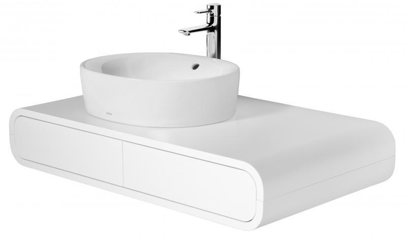 NC Series Матовый белый лакМебель для ванной<br>Toto NC Series FU10016A-LW шкафчик под раковину. Цвет матовый белый лак. Вырез под раковину слева. Цена указана за шкафчик. Раковину необходимо приобретать отдельно.<br>