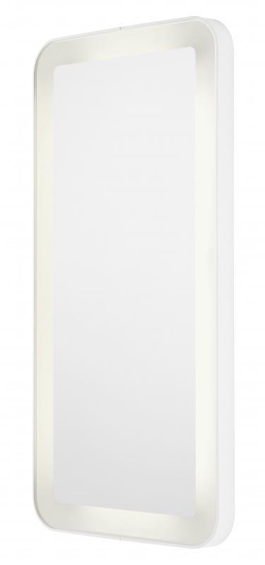 NC Series Белое с подсветкойМебель для ванной<br>Toto NC Series MI10018B-WI зеркало с подсветкой. Материал алюминий. Белая подсветка.<br>