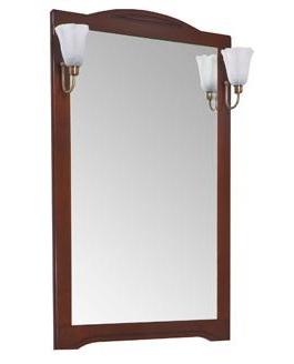 Зеркало Aquanet Луис 60 164892 Тёмный орех раковина aquanet луис 176639