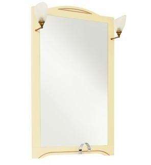Луис 173216 Тёмный-орехМебель для ванной<br>Зеркало Aquanet Луис 173218  Цвет тёмный орех. Артикул 173218.<br>