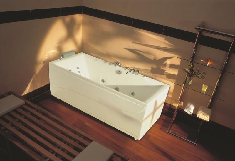 Акриловая ванна Victory Spa Itaka 155 Без системы управления акриловая ванна victory spa barbados 155 без системы управления