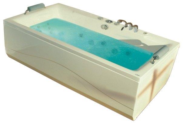 """Itaka 190 Система 3: Гидро-аэромассажВанны<br>Victory Spa Itaka 190 NVS.500.910.03.1 акриловая ванна белого цвета. Стандартная комплектация: электронная система управления; ЖК-дисплей; программа полуавтоматической дезинфекции; подводная светодиодная подсветка; таймер с установкой желаемого времени принятия процедур; часы; датчик температуры воды; датчик уровня воды, два стальных подголовника с подушкой (по желанию их можно заменить на подголовники из тика с подушкой). Гидромассаж: ротативные форсунки для спины; ротативные форсунки для массажа ступней ног; боковые форсунки с возможностью изменения направления струи; возможность полного закрытия боковых форсунок; независимая регулировка подачи воздуха в гидромассажные форсунки; турбомассаж (принудительная подача воздуха в форсунки от воздушного компрессора); датчик защиты от запуска без воды; дренаж гидромассажной системы после принятия ванны. Аэромассаж: аэромассаж с регулировкой интенсивности; компрессор с встроенным нагревателем воздуха (300Вт); импульсный режим аэромассажа (B-MODE); дренаж аэромассажной системы после принятия ванны; автоматическая продувка и просушка аэромассажной системы после принятия ванны; датчик уровня воды. Дополнительно можно приобрести хромотерапию (подводная цветовая подсветка); проточный водонагреватель, поддерживающий температуру воды, с защитой от """"сухого пуска""""; отдельный регулятор воздуха гидромассажных форсунок спины; импульсный режим гидромассажа (H-MODE); радиo FM / MP3 плеер; пульт дистанционного управления; ароматерапию; озонатор; фронтальную панель; комплект панелей, левый/правый; панель для облицовки плиткой; слив-перелив с наполнением.<br>"""