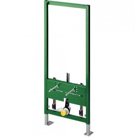 Eco Plus 8167.5 Для бидеИнсталляции<br>Модуль Eco Plus 8167.5 (727901) для подвесного биде. Стальная рама, порошковое покрытие. Высота 1130 мм. Включает: регулируемые по высоте держатели для водорозеток Viega, регулируемое по высоте сливное колено DN 40/50, резиновый ниппель 40/30, крепеж для модуля (к полу) и биде, саморезы для монтажа на направляющих стойках.<br>
