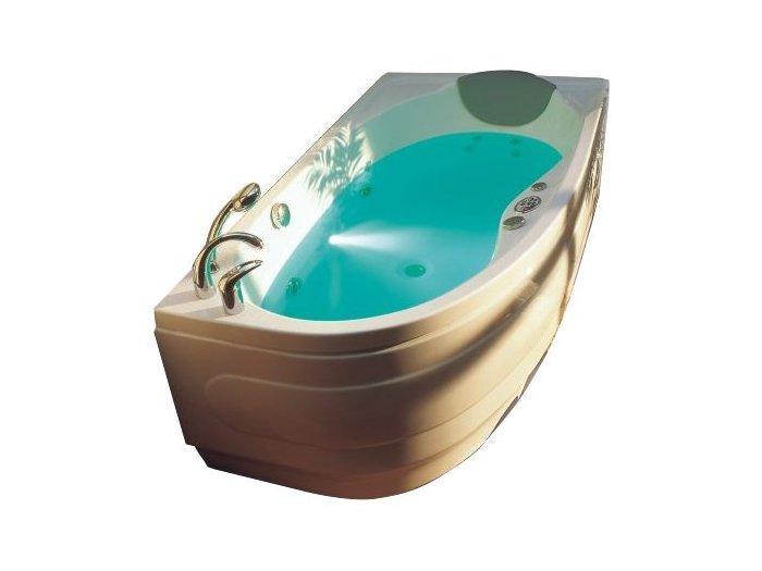 Акриловая ванна Victory Spa Mauritius 155 Система 1: Аэромассаж