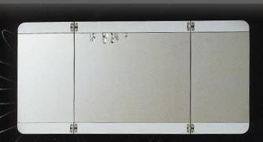 Нота 170963 БелоеМебель для ванной<br>Зеркало Aquanet Нота 170963 раскладное.<br>