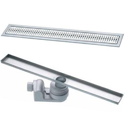 Душевой лоток с сифоном и дизайн-решеткой Viega Visign 619053 С сифоном и дизайн-решеткой