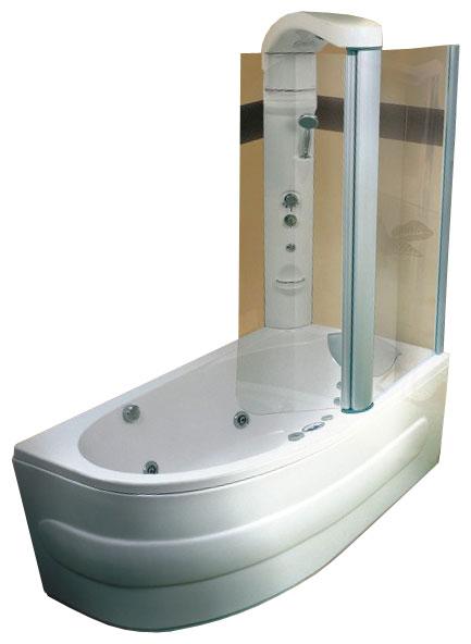 Акриловая ванна Victory Spa Mauritius Max 165 Без системы управления