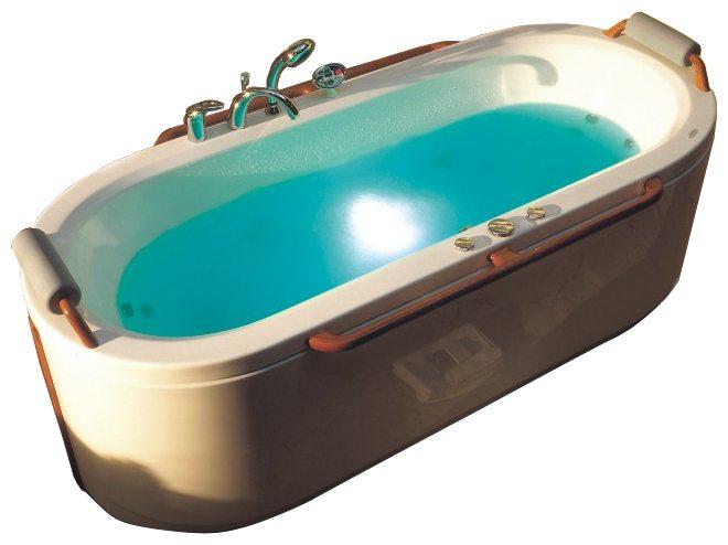 Jamaica 180 Система 1: АэромассажВанны<br>Victory Spa Jamaica 180 NVS.310.910.01.1 овальная ванна белого цвета. Стандартная комплектация: электронная система управления; ЖК-дисплей; программа полуавтоматической дезинфекции; подводная светодиодная подсветка; таймер с установкой желаемого времени принятия процедур; часы; датчик температуры воды; датчик уровня воды, два стальных подголовника с подушкой; две стальные боковые ручки. Аэромассаж: плавная регулировка интенсивности потока воздуха; компрессор со встроенным нагревателем воздуха; импульсивный режим аэромассажа (B-MODE); дренаж аэромассажной системы после принятия ванны; автоматическая продувка и просушка аэромассажной системы после принятия ванны. Дополнительно можно приобрести пульт дистанционного управления, хромотерапию, озонатор, радиo FM / MP3 плеер, ароматерапию, фронтальную панель, подголовник из тика с подушкой, ручки из тика, слив-перелив с наполнением.<br>