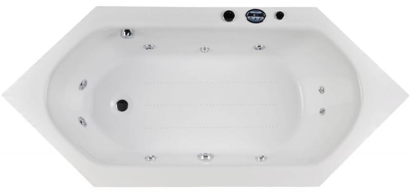 Акриловая ванна Victory Spa Flores Без системы управления