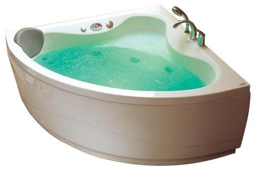"""Curacao 140 Система 2: ГидромассажВанны<br>Victory Spa Curacao 140 NVS.430.910.02.1 акриловая ванна белого цвета. Стандартная комплектация: электронная система управления; ЖК-дисплей; программа полуавтоматической дезинфекции; подводная светодиодная подсветка; таймер с установкой желаемого времени принятия процедур; часы; датчик температуры воды; датчик уровня воды; подголовник. Гидромассаж: ротативные форсунки для спины;ротативные форсунки для массажа ступней ног; боковые форсунки с возможностью изменения направления струи; возможность полного закрытия боковых форсунок; независимая регулировка подачи воздуха в гидромассажные форсунки; датчик защиты от запуска без воды; дренаж гидромассажной системы после принятия ванны. Дополнительно можно приобрести хромотерапию (подводная цветовая подсветка); проточный водонагреватель, поддерживающий температуру воды, с защитой от """"сухого пуска""""; отдельный регулятор воздуха гидромассажных форсунок спины; импульсный режим гидромассажа (H-MODE); радиo FM / MP3 плеер; пульт дистанционного управления; ароматерапию; озонатор; фронтальную панель; панель для облицовки плиткой; слив-перелив с наполнением.<br>"""
