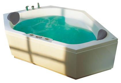 """Aruba Система 2: ГидромассажВанны<br>Victory Spa Aruba NVS.200.910.02.1 акриловая ванна белого цвета. Стандартная комплектация: электронная система управления; ЖК-дисплей; программа полуавтоматической дезинфекции; подводная светодиодная подсветка; таймер с установкой желаемого времени принятия процедур; часы; датчик температуры воды; датчик уровня воды; два подголовника. Гидромассаж: ротативные форсунки для спины;ротативные форсунки для массажа ступней ног; боковые форсунки с возможностью изменения направления струи; возможность полного закрытия боковых форсунок; независимая регулировка подачи воздуха в гидромассажные форсунки; датчик защиты от запуска без воды; дренаж гидромассажной системы после принятия ванны. Дополнительно можно приобрести хромотерапию (подводная цветовая подсветка); проточный водонагреватель, поддерживающий температуру воды, с защитой от """"сухого пуска""""; отдельный регулятор воздуха гидромассажных форсунок спины; импульсный режим гидромассажа (H-MODE); радиo FM / MP3 плеер; пульт дистанционного управления; ароматерапию; озонатор; фронтальную панель; панель для облицовки плиткой; слив-перелив с наполнением.<br>"""