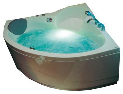 Акриловая ванна Victory Spa St Lucua 145x145 Система 4: Maxi Гидро-аэромассаж