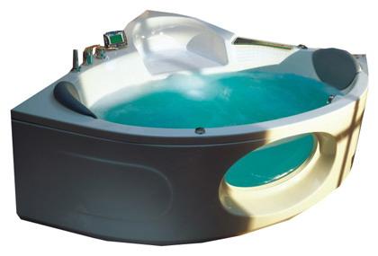 """Barbados 145x145 Система 3: Гидро-аэромассажВанны<br>Victory Spa Barbados 145 NVS.380.910.03.1 акриловая ванна белого цвета. Стандартная комплектация: электронная система управления; ЖК-дисплей; программа полуавтоматической дезинфекции; подводная светодиодная подсветка; таймер с установкой желаемого времени принятия процедур; часы; датчик температуры воды; датчик уровня воды; два подголовника; фронтальная панель. Гидромассаж: ротативные форсунки для спины; ротативные форсунки для массажа ступней ног; боковые форсунки с возможностью изменения направления струи; возможность полного закрытия боковых форсунок; независимая регулировка подачи воздуха в гидромассажные форсунки; турбомассаж (принудительная подача воздуха в форсунки от воздушного компрессора); датчик защиты от запуска без воды; дренаж гидромассажной системы после принятия ванны. Аэромассаж: аэромассаж с регулировкой интенсивности; компрессор с встроенным нагревателем воздуха (300Вт); импульсный режим аэромассажа (B-MODE); дренаж аэромассажной системы после принятия ванны; автоматическая продувка и просушка аэромассажной системы после принятия ванны; датчик уровня воды. Дополнительно можно приобрести хромотерапию (подводная цветовая подсветка); проточный водонагреватель, поддерживающий температуру воды, с защитой от """"сухого пуска""""; отдельный регулятор воздуха гидромассажных форсунок спины; импульсный режим гидромассажа (H-MODE); радиo FM / MP3 плеер; пульт дистанционного управления; ароматерапию; озонатор; смеситель; слив-перелив с наполнением.<br>"""