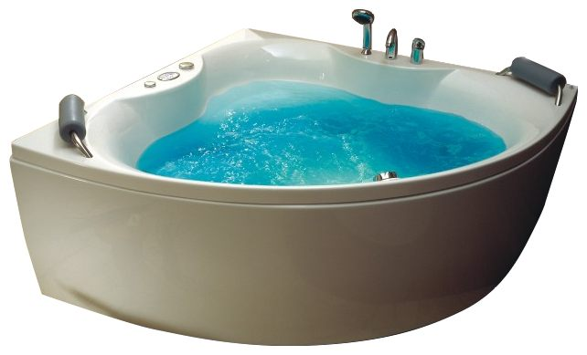 """Rhodos Система 2: ГидромассажВанны<br>Victory Spa Rhodos NVS.450.910.02.1 акриловая ванна белого цвета. Стандартная комплектация: электронная система управления; ЖК-дисплей; программа полуавтоматической дезинфекции; подводная светодиодная подсветка; таймер с установкой желаемого времени принятия процедур; часы; датчик температуры воды; датчик уровня воды. Гидромассаж: ротативные форсунки для спины;ротативные форсунки для массажа ступней ног; боковые форсунки с возможностью изменения направления струи; возможность полного закрытия боковых форсунок; независимая регулировка подачи воздуха в гидромассажные форсунки; датчик защиты от запуска без воды; дренаж гидромассажной системы после принятия ванны. Дополнительно можно приобрести хромотерапию (подводная цветовая подсветка); проточный водонагреватель, поддерживающий температуру воды, с защитой от """"сухого пуска""""; отдельный регулятор воздуха гидромассажных форсунок спины; импульсный режим гидромассажа (H-MODE); радиo FM / MP3 плеер; пульт дистанционного управления; ароматерапию; озонатор; фронтальную панель; панель для облицовки плиткой; подголовники; слив-перелив с наполнением.<br>"""
