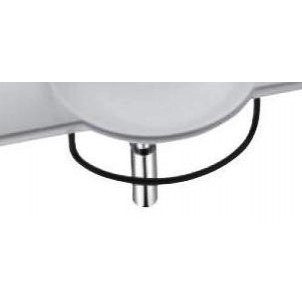 Formilia-Spherik E4129 ХромАксессуары для ванной<br>Полотенцедержатель Jacob Delafon Formilia-Spherik E4129.<br>