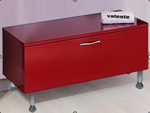 Lacrima Lac1000.32 цвет красныйМебель для ванной<br>Valente Lac1000.32 тумба с выдвижным ящиком 1000*400*340 мм.<br>