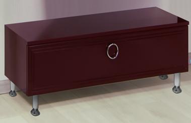 Eletto Elt1000.32Ме цвет красныйМебель для ванной<br>Valente Eletto Elt1000.32 тумба с выдвижным ящиком 1000*400*340 мм.<br>