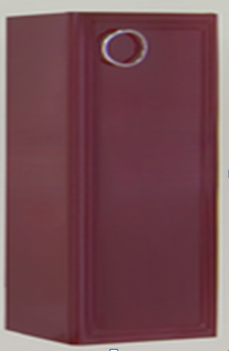 Купить Шкаф навесной, Eletto Elt 270.96-01 Левый, Valente, Россия