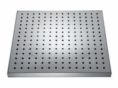 Eo E3875 ХромВерхние души<br>Верхний душ Jacob Delafon Eo E3875. Описание: антиизвестковое покрытие, расход: 11 литров в минуту, квадратная форма - 196 форсунок, размер (ДхШ): 280 x 280 мм.<br>