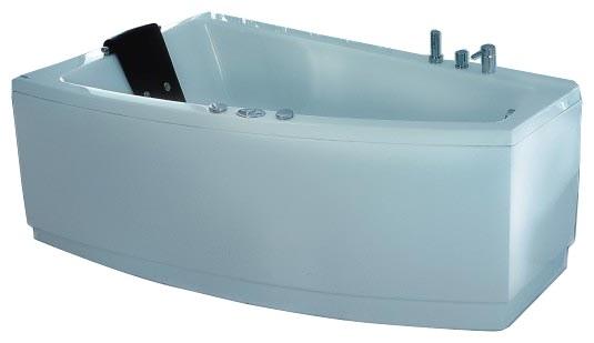 """Shaula 180 Система 2: ГидромассажВанны<br>Victory Spa Shaula 180 NVS.640.910.02.1/NVS.641.910.02.1 акриловая ванна белого цвета. Стандартная комплектация: электронная система управления; ЖК-дисплей; программа полуавтоматической дезинфекции; подводная светодиодная подсветка; таймер с установкой желаемого времени принятия процедур; часы; датчик температуры воды; датчик уровня воды; подголовник. Гидромассаж: ротативные форсунки для спины; ротативные форсунки для массажа ступней ног; боковые форсунки с возможностью изменения направления струи; возможность полного закрытия боковых форсунок; независимая регулировка подачи воздуха в гидромассажные форсунки; датчик защиты от запуска без воды; дренаж гидромассажной системы после принятия ванны. Дополнительно можно приобрести хромотерапию (подводная цветовая подсветка); проточный водонагреватель, поддерживающий температуру воды, с защитой от """"сухого пуска""""; отдельный регулятор воздуха гидромассажных форсунок спины; импульсный режим гидромассажа (H-MODE); радиo FM / MP3 плеер; пульт дистанционного управления; ароматерапию; озонатор; панели; слив-перелив с наполнением.<br>"""