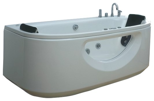 Акриловая ванна Victory Spa Alcor Система 1: Аэромассаж акриловая ванна victory spa gemini 168 система 1 аэромассаж