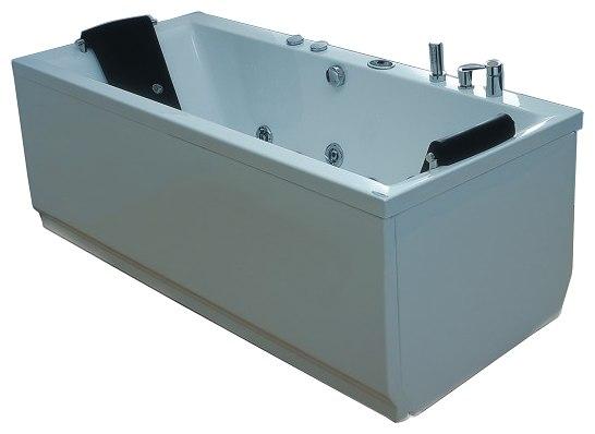 Delphinus Система 1: АэромассажВанны<br>Victory Spa Delphinus NVS.710.910.01.1 акриловая ванна белого цвета. Стандартная комплектация: электронная система управления; ЖК-дисплей; программа полуавтоматической дезинфекции; подводная светодиодная подсветка; таймер с установкой желаемого времени принятия процедур; часы; датчик температуры воды; датчик уровня воды; подголовники. Аэромассаж: плавная регулировка интенсивности потока воздуха; компрессор со встроенным нагревателем воздуха; импульсивный режим аэромассажа (B-MODE); дренаж аэромассажной системы после принятия ванны; автоматическая продувка и просушка аэромассажной системы после принятия ванны. Дополнительно можно приобрести пульт дистанционного управления, хромотерапию, озонатор, радиo FM / MP3 плеер, ароматерапию, панели, слив-перелив с наполнением.<br>
