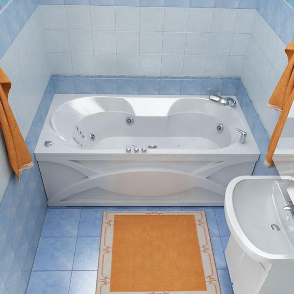 Валери  БелаяВанны<br>Глубина ванны: 360 мм. В комплект поставки входят: чаша ванны, слив-перелив, каркас.<br>