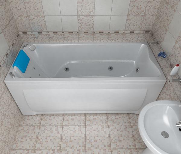 Акриловая ванна Triton Берта Белая i1eafc
