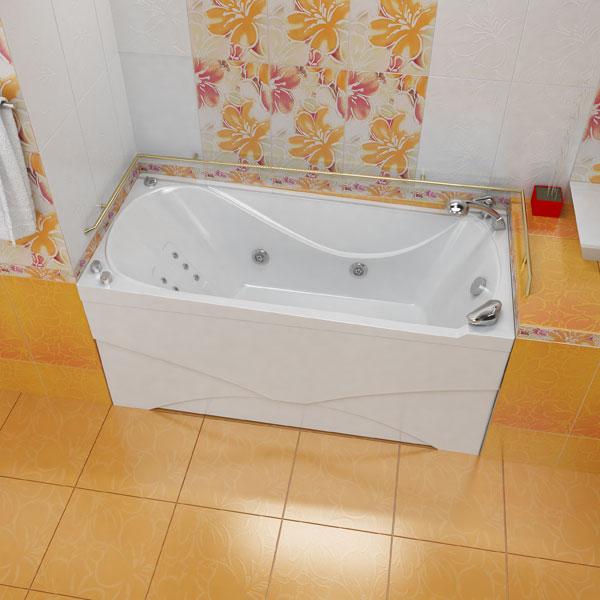 Вики БелаяВанны<br>Глубина ванны: 420 мм. Элегантная ванна Triton Вики представлена в стандартной прямоугольной форме, особенностью модели является ее эргономичная спинка, противоскользящее дно. Эта удобная конструкция произведена из стопроцентного литьевого акрила превосходного качества. В комплект поставки входят: чаша ванны, слив-перелив.<br>