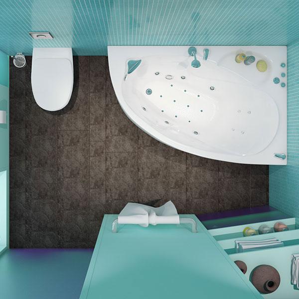 Изабель  Белая RВанны<br>Акриловая ванна «ИЗАБЕЛЬ» правая. В комплект входит: слив/перелив и каркас. Глубина ванны: 395 мм.<br>