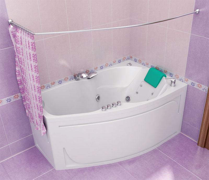 Лайма Белая RВанны<br>Акриловая ванна ЛАЙМА правая. Глубина ванны: 475 мм. В комплект поставки входят: чаша ванны, слив-перелив, каркас.<br>