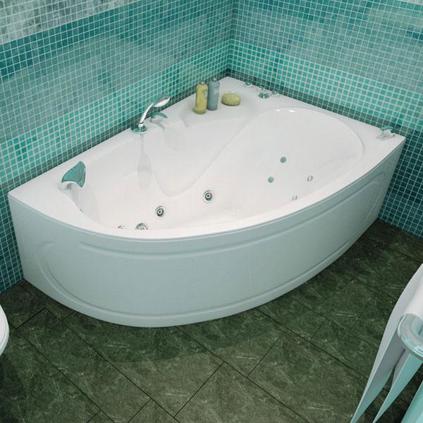 Кайли  Белая LВанны<br>Акриловая ванна «КАЙЛИ» левая. В комплект входит: слив/перелив и каркас. Глубина ванны: 395 мм.<br>