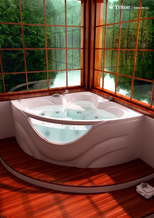 Виктория Цветная со стекломВанны<br>Глубина ванны: 440 мм. Дно с рифленой массажной поверхностью. Уникальный дизайн, инновационное производство. В комплект поставки входят: чаша ванны, слив-перелив, каркас.<br>